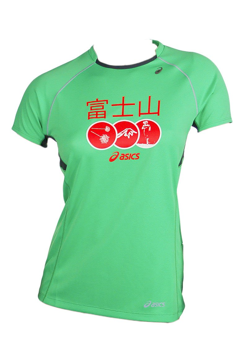 ASICS Fitness Running Sportshirt Trail Graphic SS Top Damen 0477 Art. 522423