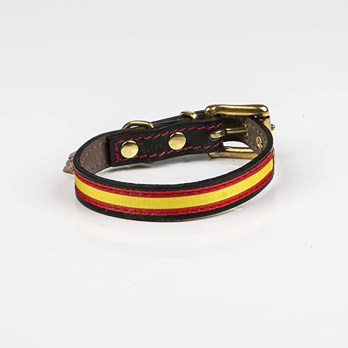 Be two - Collar para Perros Bandera españa: Amazon.es: Productos ...