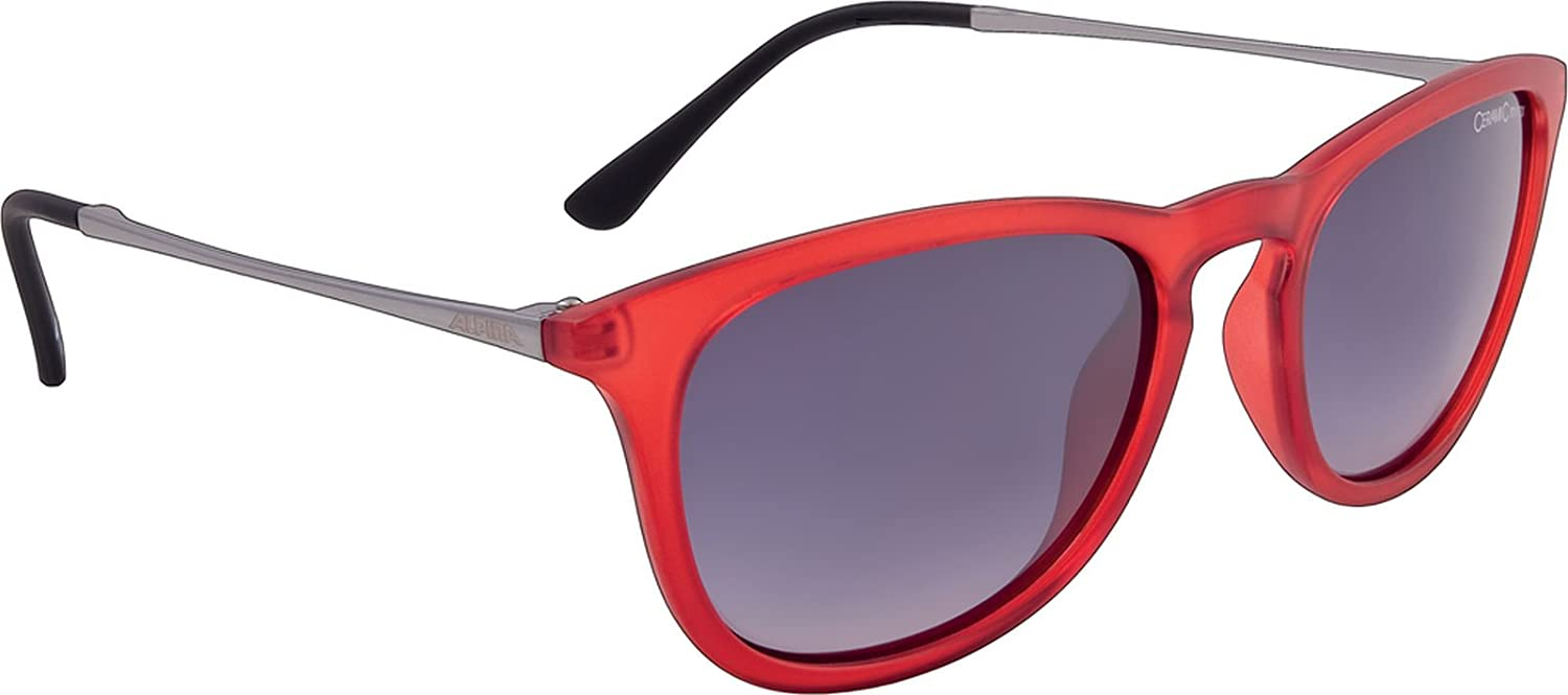 Alpina Zaryn - Lunettes cyclisme - rouge 2018 Lunettes