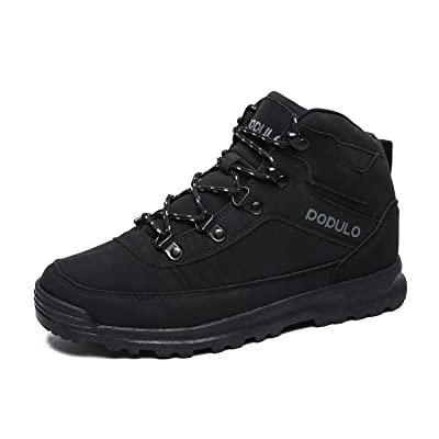 Men's Hiking Boots Outdoor Winter Warm Sneakers Casual Boots and Rubber Sole | Hiking Boots