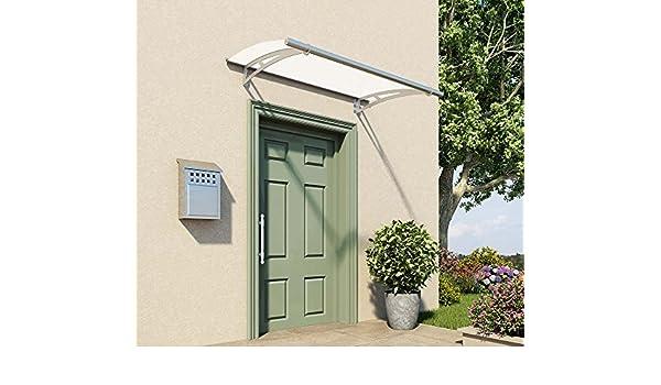 Palram vordach, protector de lluvia, überdachung Capella 1500 Frost canalones Incluye//151 x 92 cm (BXT)//Tejadillo para puerta y türüberdachung: Amazon.es: Jardín