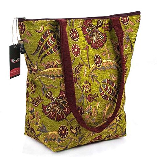 Authentic Handmade Turkish Kilim Women Tote Bag