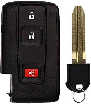 Amazon Com Car Key Fob Remote Case For Toyota 2004 2009 Prius