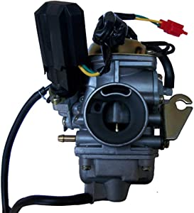 GLENPARTS NEW Carburetor FOR YERF DOG DOGG GY6 150 150cc Scooter Moped Go Kart Carb