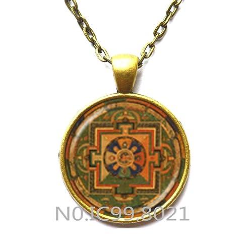 Amazon.com: Fashion Necklace Fashion Pendant,Sri yantra ...