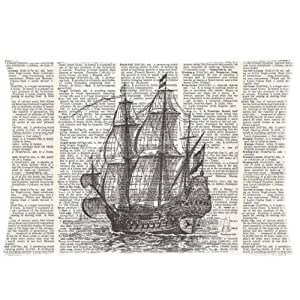 LarryToliver You deserve to have 2 way cloth 20 X 30 inch pillowcase Old Ship On Vintage Dictionary Page best pillow cases(twin sides) by ruishername