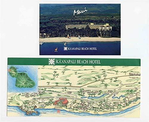 Amazon Com Kaanapali Beach Hotel Brochures And Postcard