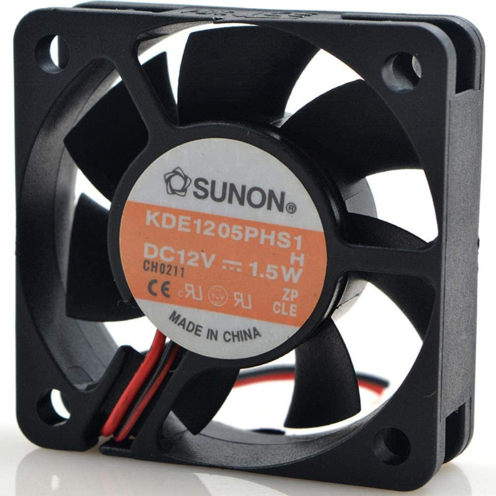 Authentic Jianyuan for SUNON 5CM 12V 1.5W KD1205PHB1 5015 Cooling Fan