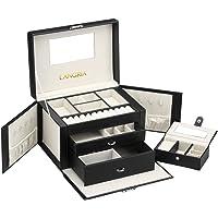 LANGRIA Portagioie Scatole per Gioielli Porta Gioielli Scatola Custodia Box Scatola Case Size Mini ¡