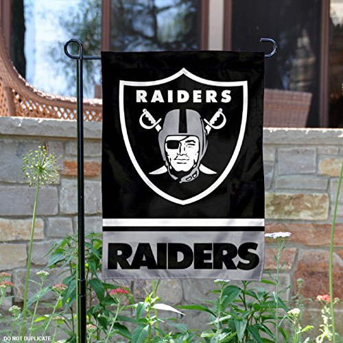 Oakland Athletics Garden (Oakland Raiders Double Sided Garden Flag)