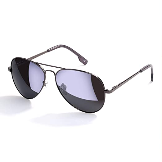 6312251d91e Amazon.com  Mens Black Sunglasses Aviator