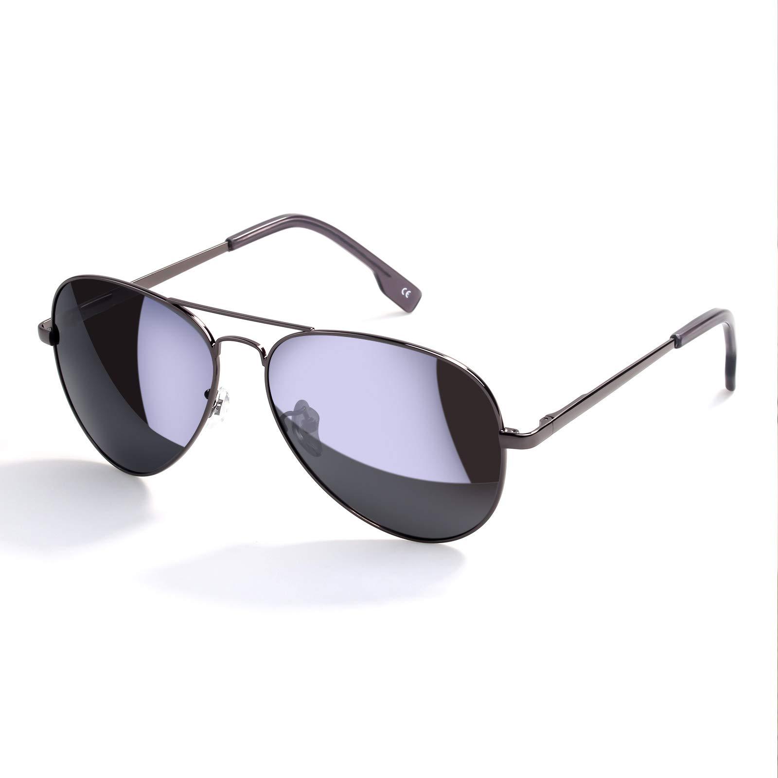 8327e12b4b Amazon.com  Mens Black Sunglasses Aviator
