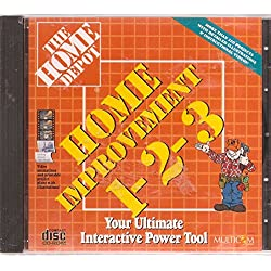 Home Improvement 1-2-3 Your Ultimate Interactive Power Tool from Home Depot CD-ROM for Windows & Macintosh