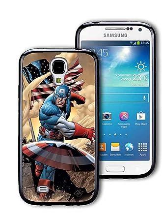 Capitán América Marvel Comics Samsung Galaxy S4 Mini Carcasa ...