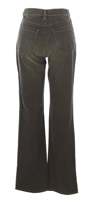 NOYES Women's Rhinestones Wide Leg Jeans, 44, Dark Brown by YESNO (Image #2)