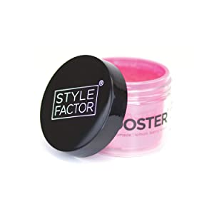 Style Factor Edge Booster Strong Hold Water-Based Pomade 3.38oz - Lemon Berry Scent