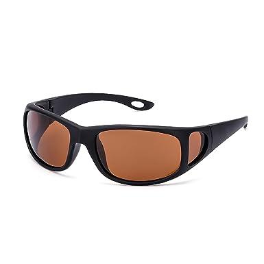 512cc50a383 SIPHEW Unisex Classic Sunglasses Horn Rimmed Design