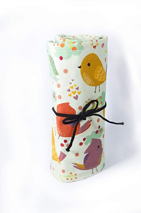 Buy Coloron Dreamz Printed Little Bird Pencil Roll Up Canvas