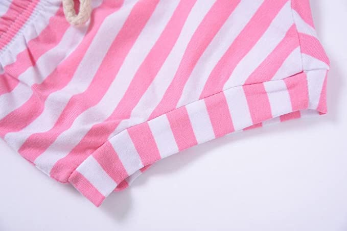 Covermason Niños Ropa Venta de liquidación Newborn Infant Baby Girls Boys Shorts a rayas Summer Bottoms Bloomers(18M, Rosado): Amazon.es: Productos para ...