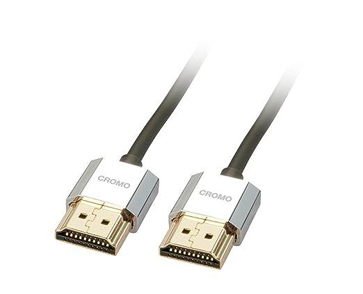 7 opinioni per Lindy 41672 Cavo HDMI CROMO, 2 m, Antracite