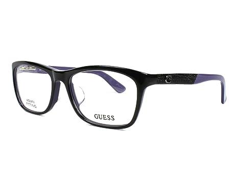 6a1e5e23671 Lunettes de vue Guess GU 2510 001  Amazon.fr  Vêtements et accessoires