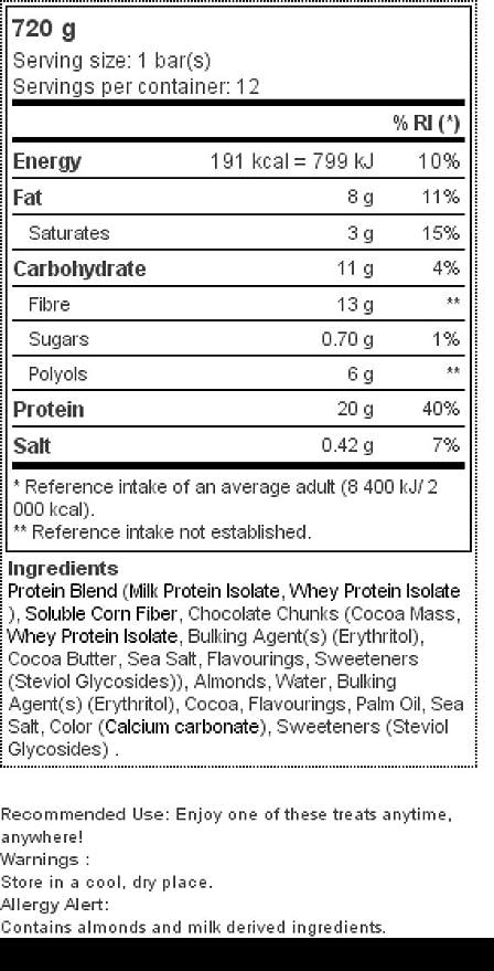 Quest Nutrition Quest Bars Double Chocolate Chunk - 12 Barras: Amazon.es: Salud y cuidado personal