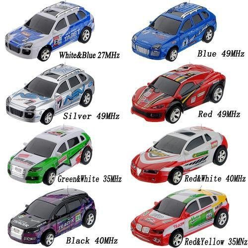 Wltoys 2015-1A 1:63 Coke Can Mini RC Radio Racing Car Random ()