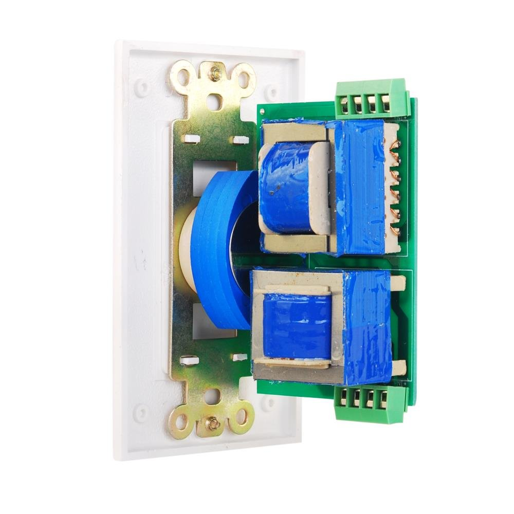 Wall Mount Volume Control Knob Flush In Plate Top View Of The Completed Circuit Board Waiting To Be Mounted On Rotary Style Adjustment 20 20khz Frequency Response Companion For Hi Fi Four Pair Speaker