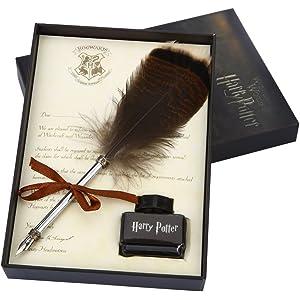 3e073ecd Antique Feather Dip Pen Set, Harry Potter Writing Quill Ink Dip Pen Set Best  Christmas