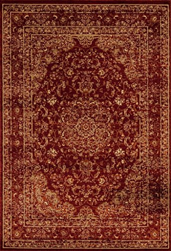 Persian Area Rugs 3212 Burgundy 8x10