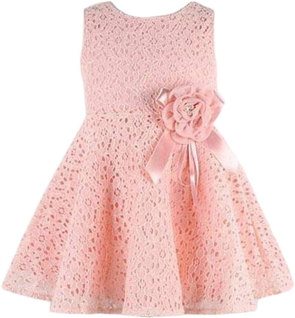 XINXINHAIHE Infant Baby Girl Knit Ruffled Vest Dress+Cotton Bow Long Sleeve Sweater 2pcs