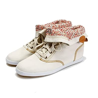 Women's Champion January Boots Fashionable Stylish Canvas / Textile Uppers and Rubber Sole