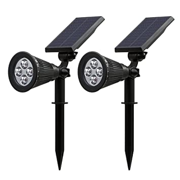 Led Solar Lights Garden Patiszon 200 Lumen Waterproof Solar