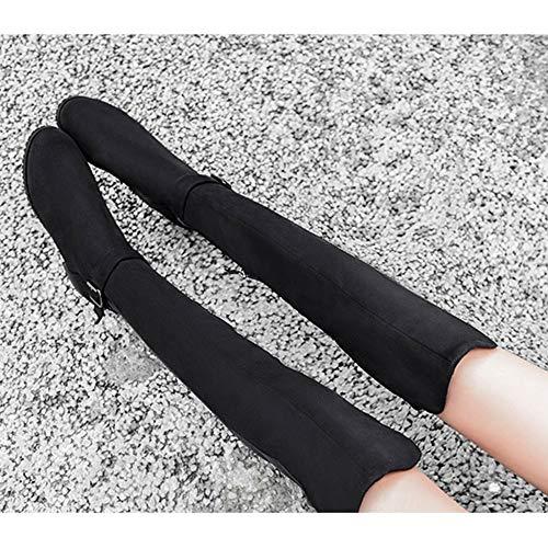 Damen R Hohe Stiefel Winter YR Schlauch Casual Flache Overknee Für Damenschuhe Neue Stiefel Herbst Schuhe Stretch Stiefel Stiefel Sexy Ritter Rutschfeste TwwOngd