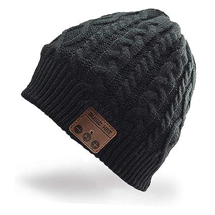 fe1872761 Hebey Wireless Bluetooth Hat Bluetooth Music Hat Winter Beanie Hat