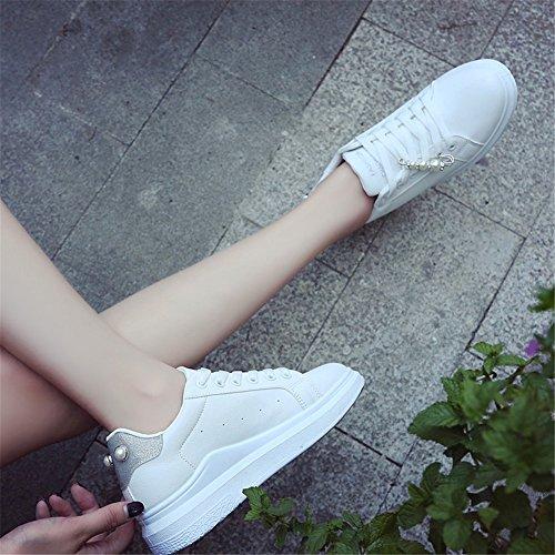 de Zapatos con Un para del Zapatos Citas de Academia Nuevas de Ocasionales Cordones IR Zapatillas Verano la Mujer Tulle Deporte Plataforma de de de la Planos Gruesos Correr Compras ttRqwfnSr