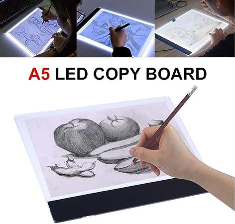 Mesas De Luz Para Calcar Tableta De Dibujo Digital De Escritura Led Tabletas Gráficas A4 / A5