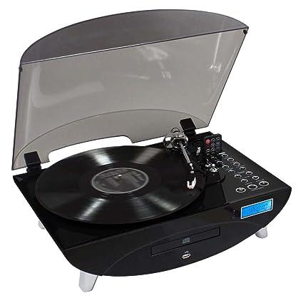 Bigben Interactive - Tocadiscos con codificador (CD, USB), color ...