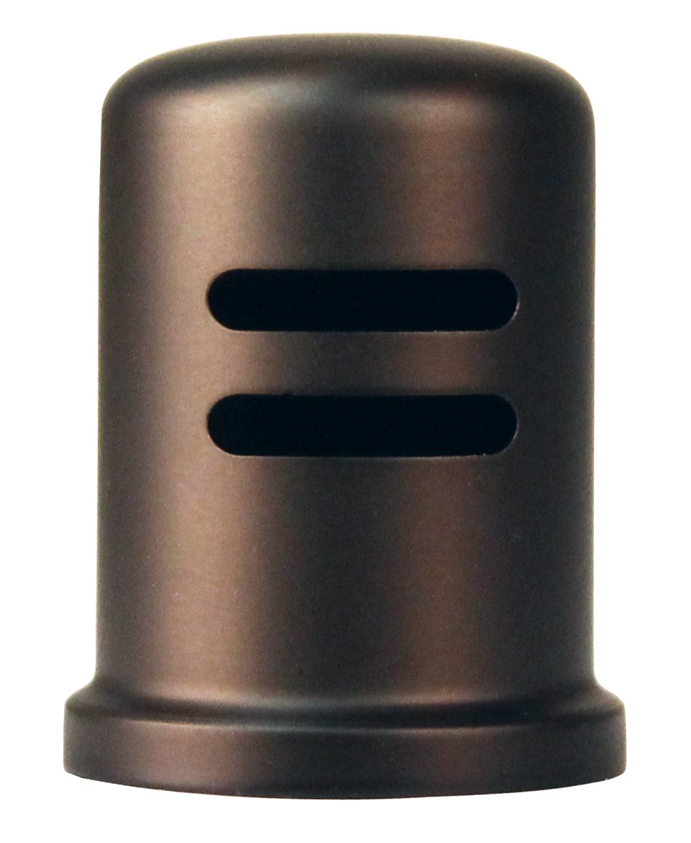Westbrass R201-1-12 Skirted Brass Air Gap Cap Only, Oil Rubbed Bronze by Westbrass