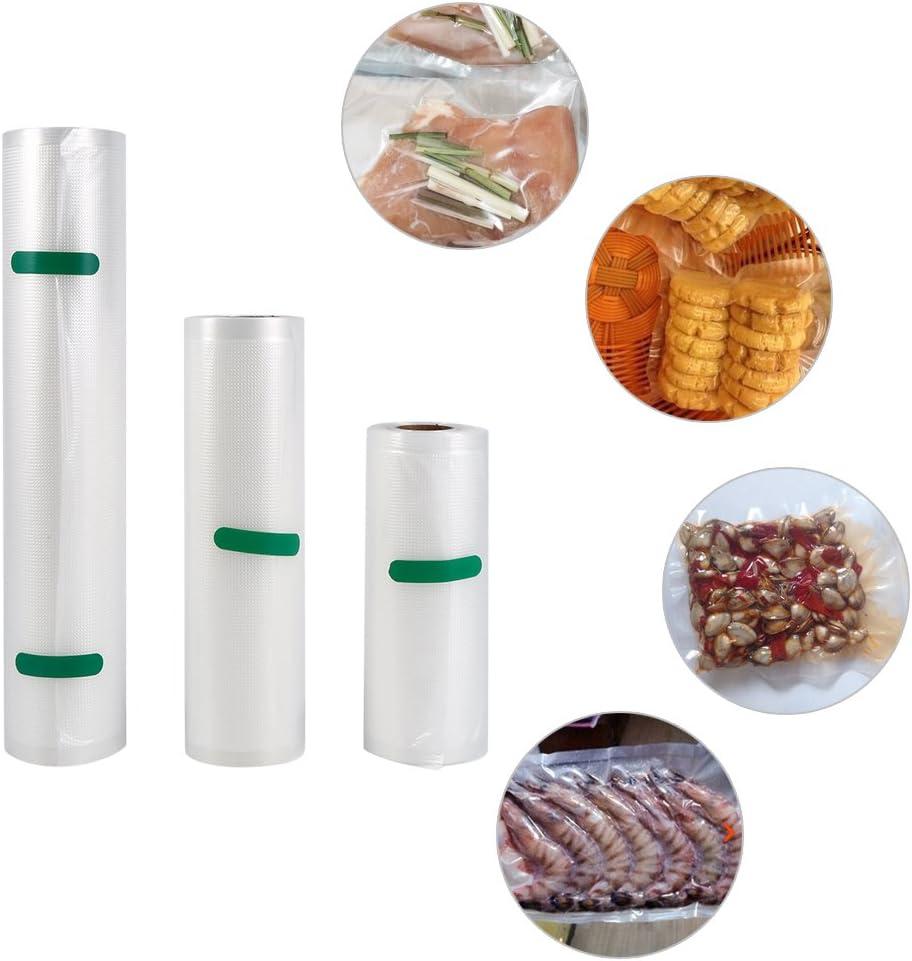 15 * 500cm Sac Sous Vide Alimentaire pour La Conservation Des Aliments Sac en Rouleau pour Scellant Sous Vide