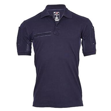 Copytec Tactical Polo-Shirt Navy blau Polizei Feuerwehr Berufs Bekleidung  Hemd  22403  Amazon.de  Bekleidung 092082e30f