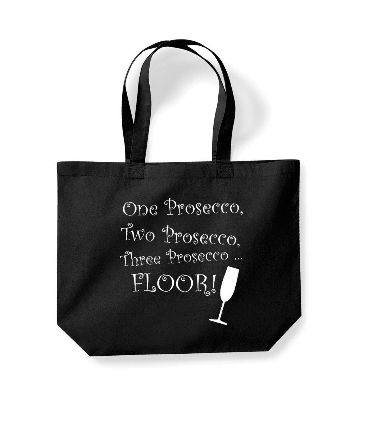 Prosecco Tote Bag Shopper I Make Prosecco Disappear Cotton Shopping Bag Fun New