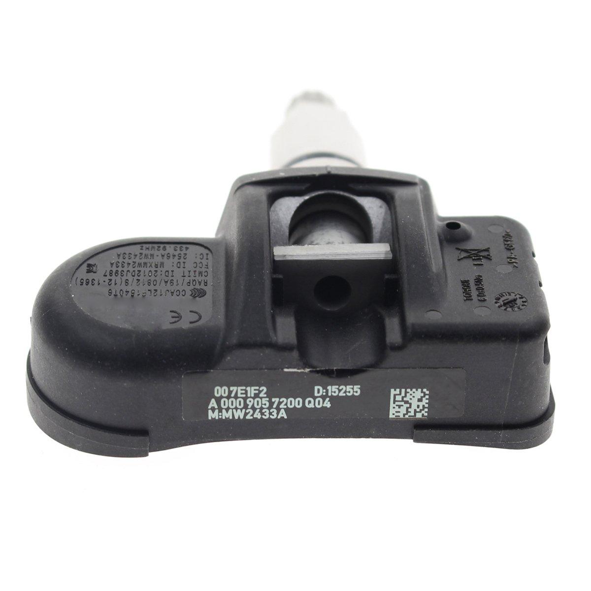 Autokay 4 Pcs Tire Pressure Sensor Tpms For Mercedes 350 Clk Electrical Wiring Diagram Benz C250 C300 C350 9057200q03 Automotive