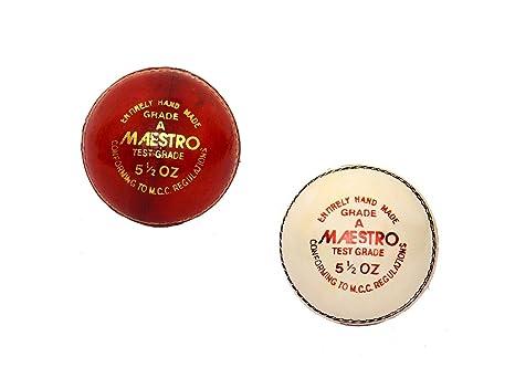 M & M MARS Cricket World - Pelota Deportiva de Piel de Críquet ...