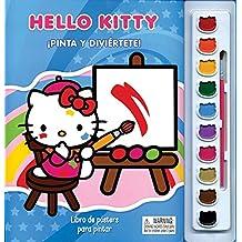 Libro de Posters para Pintar: Pinta y Diviértete con Hello Kitty