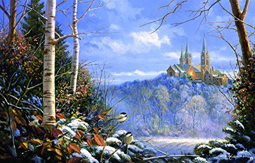 Holy Hill Sentinels 1000 Piece Jigsaw Puzzle by SunsOut - Chapel Theme
