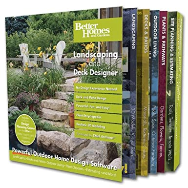 Better Homes And Gardens Landscaping And Deck Designer Amazoncouk
