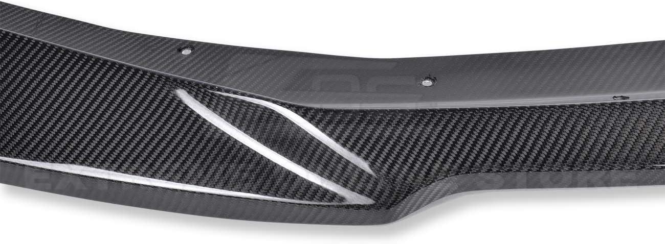 ZL1 Style Front Bumper Lower Lip Splitter For 2019-Present Chevrolet Camaro LT LS RS SS Models Carbon Fiber
