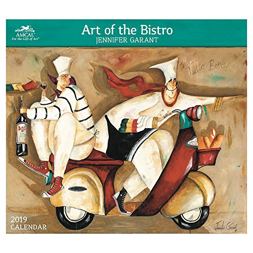 Jennifer Garant- Art of the Bistro Wall Calendar (2019) by AMCAL