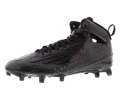 official photos 0894d bdbfd Amazon.com   adidas Adizero 5-Star 4.0 Mid Cleats Men s Shoes Black    Football